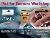 Abingdon iPad for Business Noon Knowledge Session, May 27, 2015