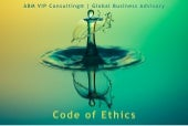 ABM VIP Consulting® | Global Business Advisory | Code of Ethics
