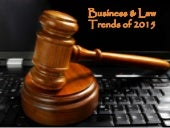 Business and Law Trends of 2015