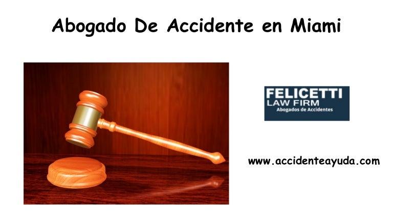 Abogado De Accidente En Miami - cover