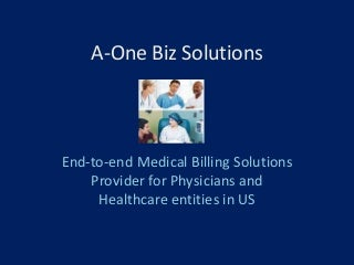 About A-One Biz Solutions