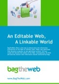 An Editable Web, a Linkable World