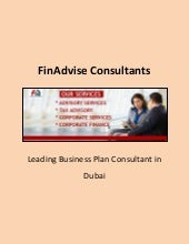 About Business Plan Consultant And Financial Risk Management