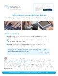About E-Signatures from #1 Rated EchoSign.com