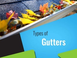 About types of gutter installation in Perth
