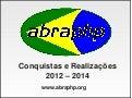 ABRAPHP: Conquistas e Realizações - 2012-2014