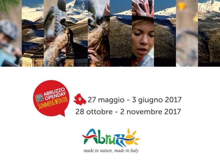 16deb5a6660f Abruzzo Open Day