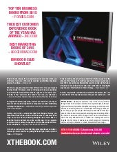 X by Brian Solis is a crash course in architecting great experiences and a must-read for any executive or designer