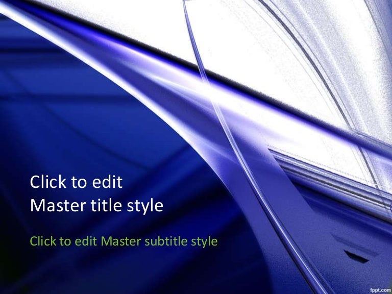 For A Modern Look Ppt Presentation Blue Art Abstract