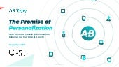 The Promise of Personalization: How to Create Meaningful Consumer Experiences that Propel Growth