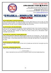 Dwarka Somnath With Diu 4N5D