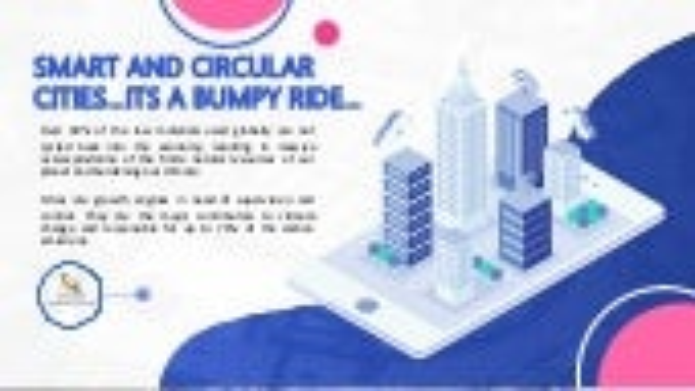 A bumpy ride... towards circular city