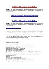 AC3 TÉLÉCHARGER AUDIO DIRECTSHOW 8192 DECODEUR DOLBY CODE