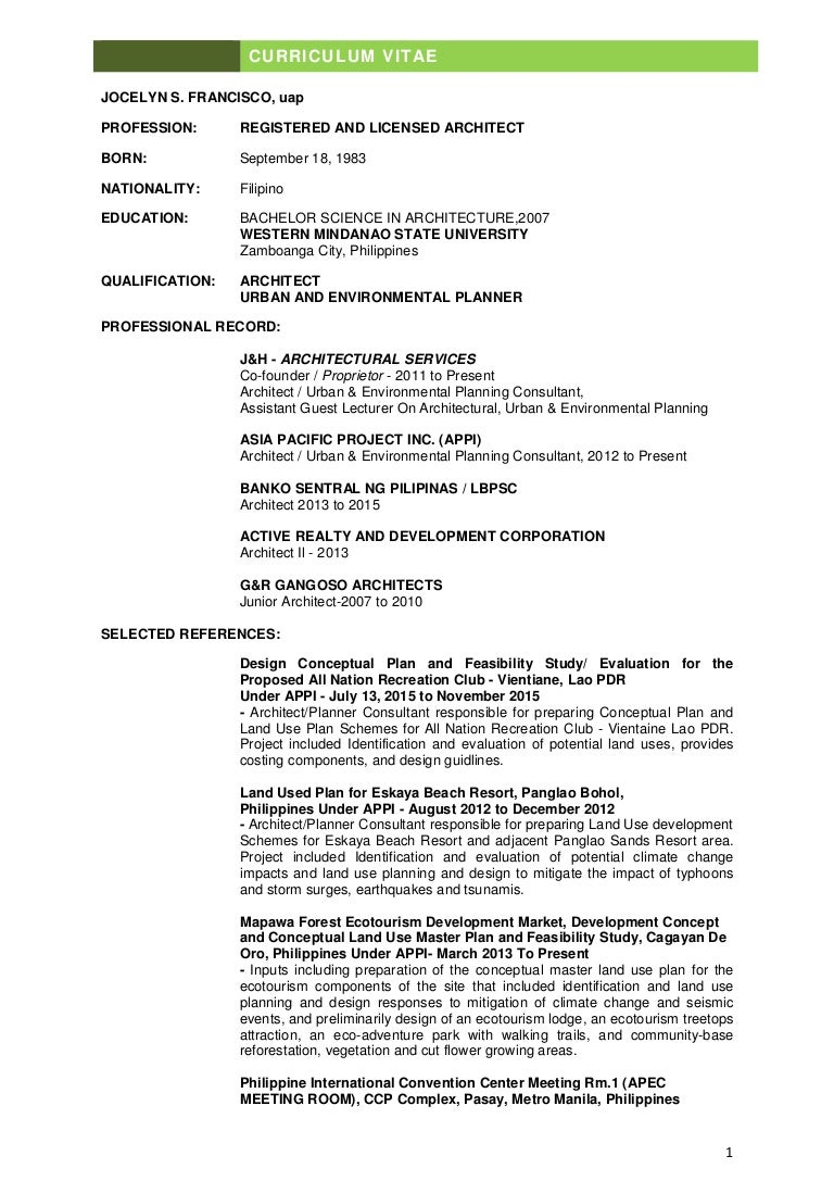 francisco CV UPDATE 2016