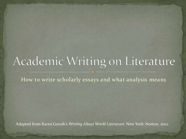 world literature essay 2012 Get this from a library exploring literature : writing and arguing about fiction, poetry, drama, and the essay [frank madden.