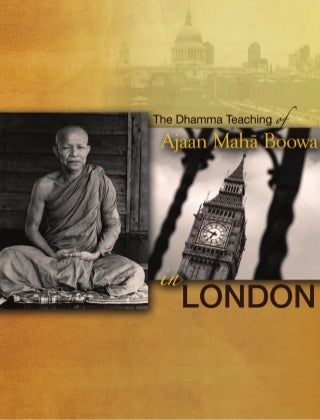 Acariya maha boowa in London
