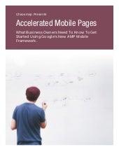 Accelerated Mobile Pages  - AMP for mobile frameworks - Chaosmap.com