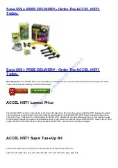 ACCEL HST1 Super Tune-Up Kit