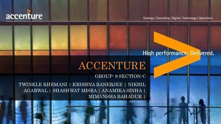 Accenture Presentation Of Hrm