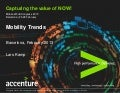 Accenture  - Bubble over Barcelona 2013 MWC - Mobility Trends