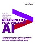 Accenture Future Workforce Insurance Survey - PoV