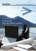 Generation D Europe Research: Serving the High Net Worth Investor