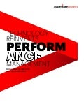 Technology reinvents performance management