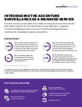 Accenture Surveillance as a Managed Service