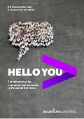 Hello You: Transforming the Customer Conversation in FS