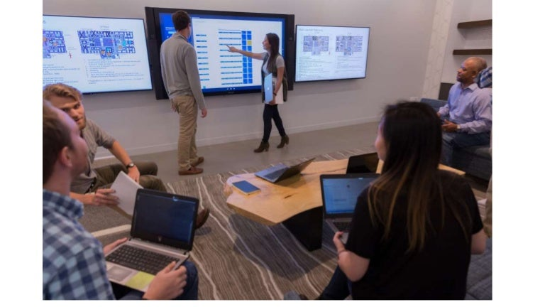 The Accenture Digital Hub: Chicago uses a variety of innovative techn…