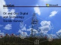 2015 Oil and Gas Digital and Technology Trends Survey
