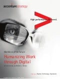 Accenture Workforce of the Future: Humanizing Work through Digital