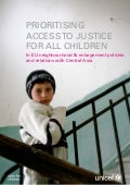 Prioritising access to justice for all children