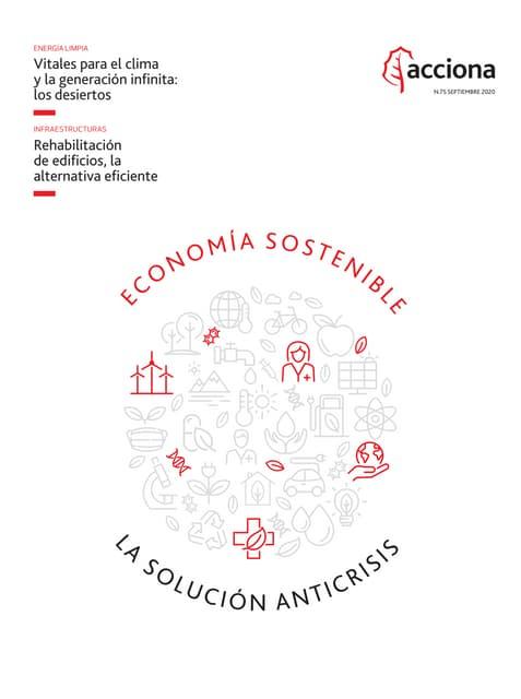 Revista ACCIONA 75: Economía sostenible, la solución anticrisis