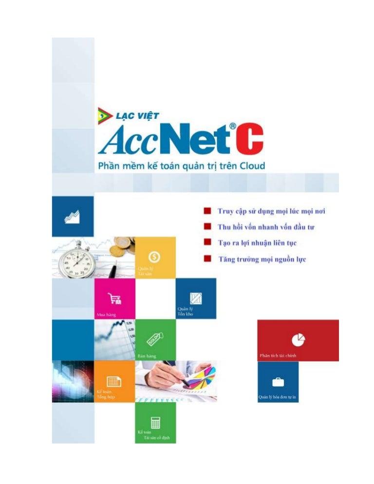 Phần mềm kế toán Cloud AccNetC - Tài liệu hướng dẫn sử dụng