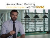 Christopher Engman: Account based marketing