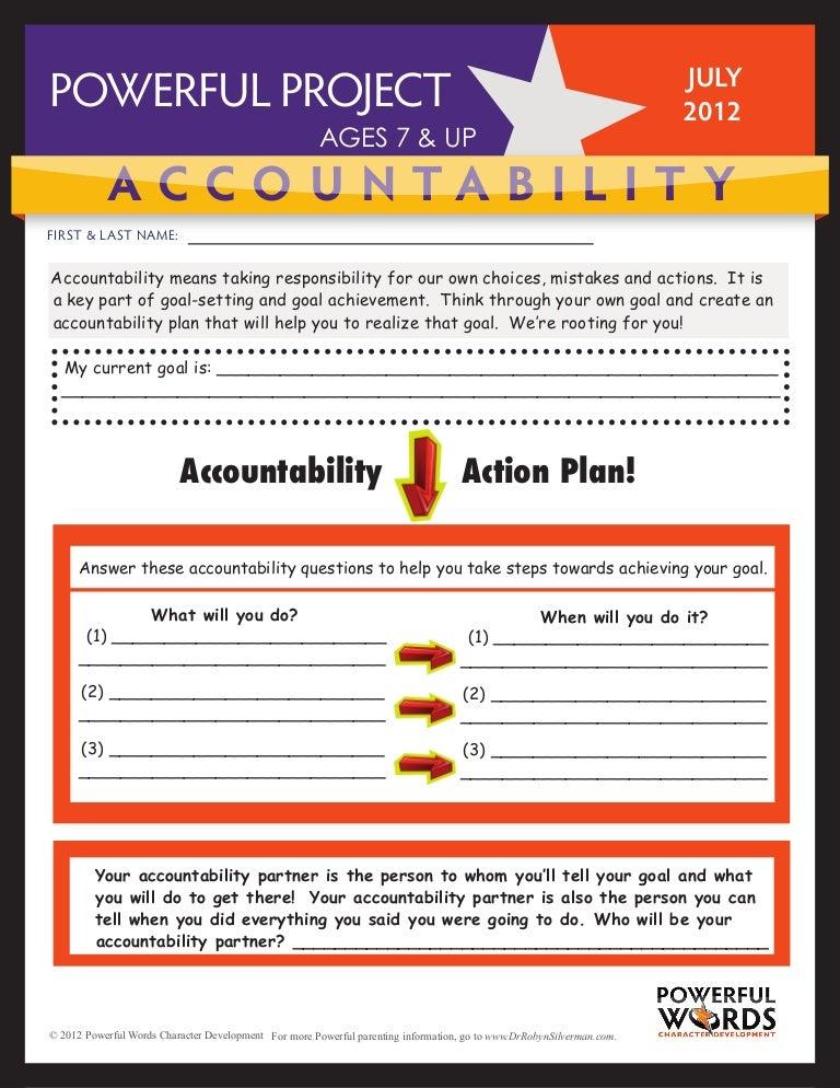 Accountability worksheet-7-12