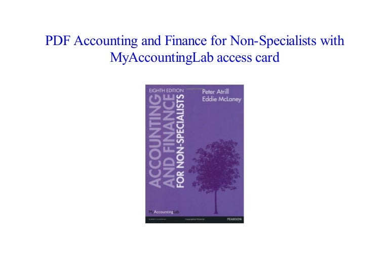 accounting and finance for non specialists 10th edition free download