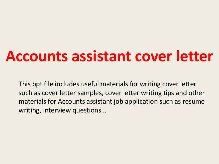 Accountsassistantcoverletter 140220192857 Phpapp02 Thumbnail 4cb1392924617