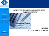 Accounts payable and receivable introductions