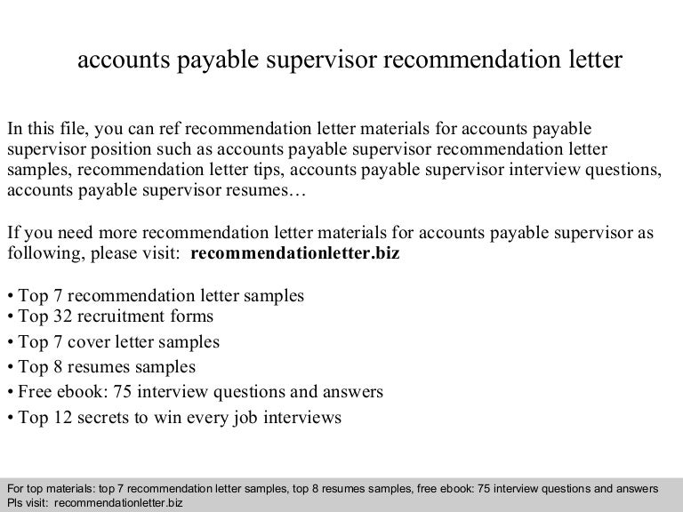 SlideShare  Accounts Payable Supervisor Resume