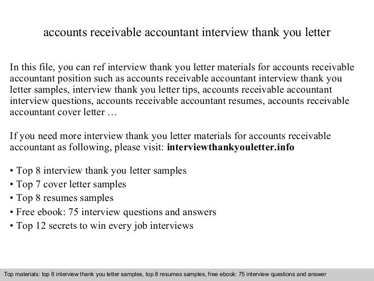 Accounts receivable accountant