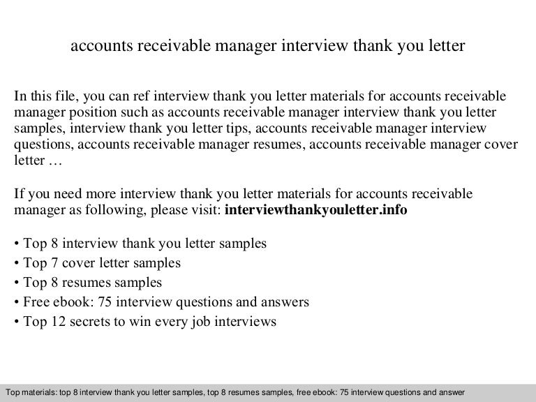 Thank you letter tips thank you letter after interview email job thankyou letter in word templates free premium templates accounts receivable manager expocarfo