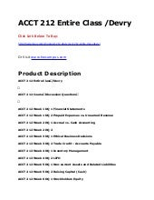 Acct212 financial accounting final exam answers - Research