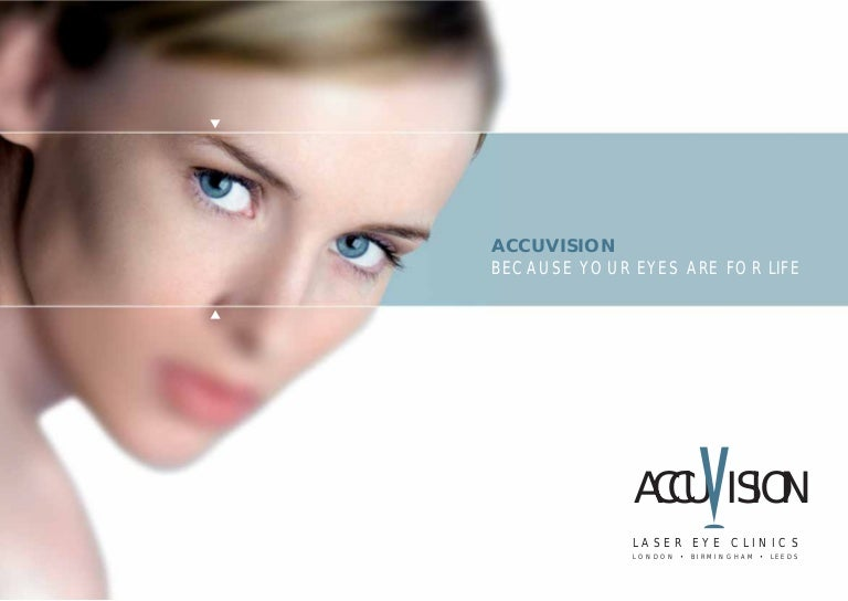 5841932dc32 Accuvision - Laser Eye Surgery  amp  Treatment Brochure