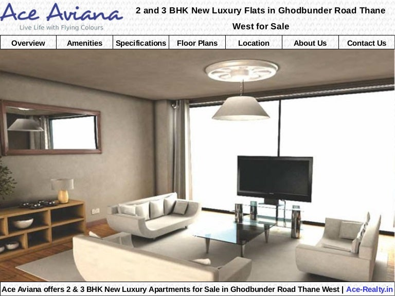Ace aviana a new luxury flats in ghodbunder road thane west for sale