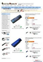 Acer aspire 6530 series batería at www baterias-portatil-es