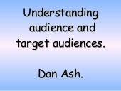 Understanding Audience And Target Audiences[1]