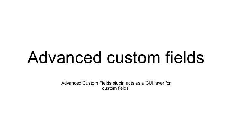 Advanced Custom Fields - Flexible Content