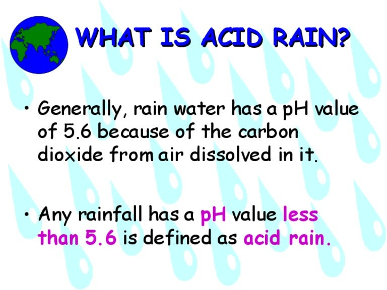 Acid rain powerpoint presentation[1]